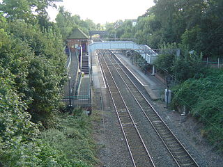 Gravelly Hill railway station Railway station in the West Midlands, England