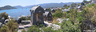Kaleköy - Ancient Lycian tombs in Simena (Kaleköy)