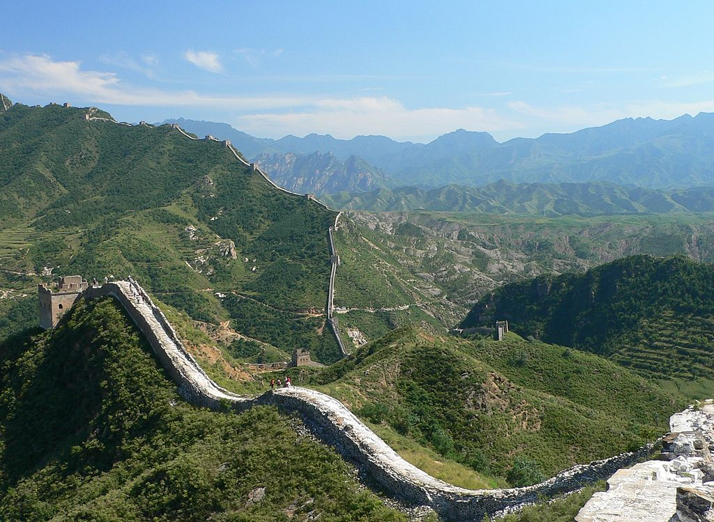 Chinesische Mauer, Great Wall in China (UNESCO-Welterbe)