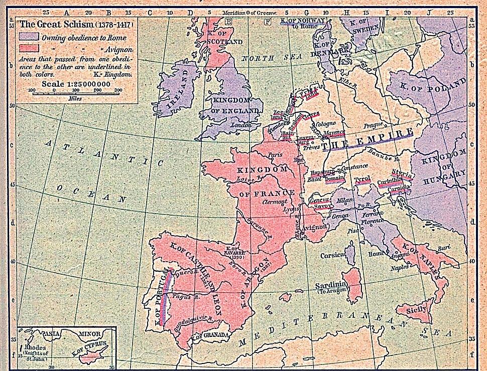 Great schism 1378 1417-C2