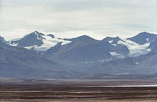 bay in King Christian X Land, Northeastern Greenland