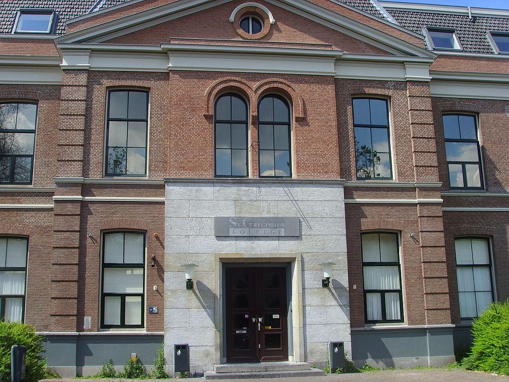 Nederlands: Het pand van het St. Gregorius College aan de Van Asch van ...