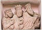 Griffen Stift Kreuzgang Sandsteinrelief hl. Drei Könige 22102015 1874.jpg