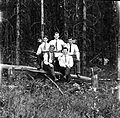 Group portrait in woods (14412989764).jpg