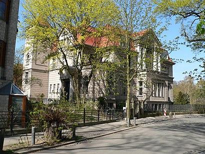 So kommt man zu Wissenschaftskolleg Zu Berlin mit den Öffentlichen - Mehr zum Ort Hier