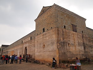 Longnan County - Guanxi Xinwei, a Hakka walled village