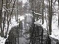 Gudö å, 2010-02-13, view west from bridge.jpg