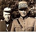 Guisan et von Steiger (Fête centrale de Zofingue 1945).jpg