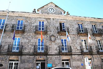 Guitiriz - Image: Guitiriz, Casa do Concello