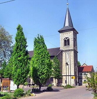 Guntersblum - Catholic church