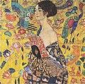 Gustav Klimt - Dame mit Fächer.jpeg