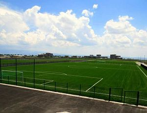 Gyumri football academy in 2014