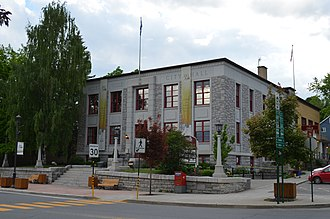 Coaticook - Image: Hôtel de ville de Coaticook, QC
