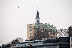 "Einar Jolin - The ""Scandalous House"" at Fiskargatan 9."