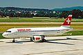 HB-IJV 1 A320-214 Swiss Sun ZRH 19JUN03 (8591269603).jpg