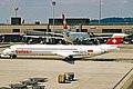 HB-ISX MD-83 Swiss Intl ZRH 18JUN03 (8527805070).jpg