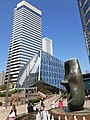 HK 中環 Central 交易廣場 Exchange Square 亨利摩爾 Henry Moore sculpture Oval with Points December 2019 SS2 07.jpg