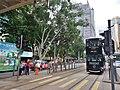 HK CWB 銅鑼灣 Causeway Bay 高士威道 Causeway Road black tram August 2019 SSG 01.jpg