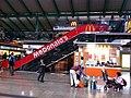 HK Hung Hom MTR Station shop escalators McDonalds Feb-2013.JPG