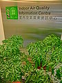HK Kln Tong HKPC Building interior Indoor Air Quality Information Centre name sign Mar-2014 green plant.JPG