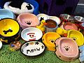 HK Sai Ying Pun Third Street pet shop Pet eating bowls April-2012.jpg