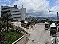 HK Sheung Wan Macau-HK bus terminal July-2012 view Police Station.JPG