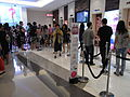 HK TST The One mall lift lobby visitors July-2012.JPG