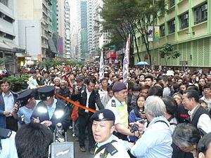 Human rights in Hong Kong - Image: H Kmarch 1 13 2008pic 2