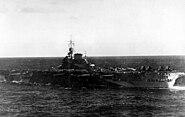 HMS Illustrious 1944 astern