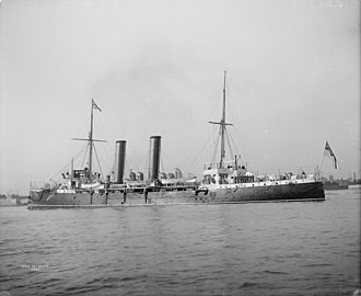 HMS Intrepid (1891) - HMS Intrepid 1896 IWM Q 21388