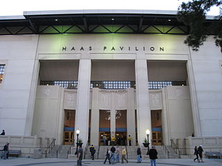 Haas Pavilion building in California, United States
