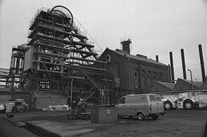 Haig Colliery - Haig Colliery in 1983