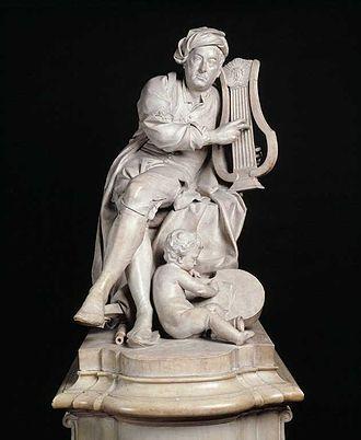 Louis-François Roubiliac - Handel (Victoria and Albert Museum)