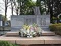Hani Motoko in the Zoushigaya Cemetery.JPG