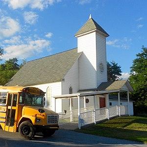 Taylor Township, Centre County, Pennsylvania - Hannah United Methodist Church
