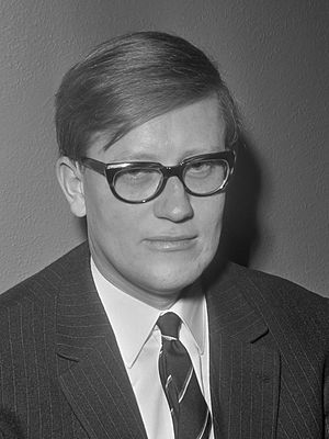 Hans Wiegel - Hans Wiegel as a Member of the House of Representatives in 1968.