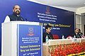 Hansraj Gangaram Ahir addressing at the inauguration of the first National Conference on Drug Law Enforcement, organised by Narcotics Control Bureau (NCB), Ministry of Home Affairs, in New Delhi.jpg