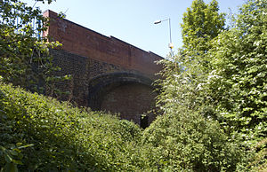 Harborne Railway - Image: Harborne Railway Northbrook Street bridge