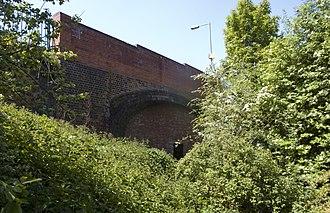 Harborne Railway - Image: Harborne Railway Northbrook Street bridge