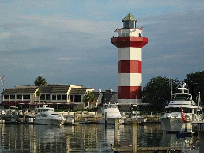 Harbor of Hilton Head Island, South Carolina, ...