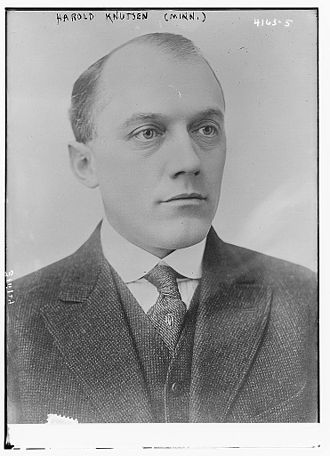 Minnesota's 6th congressional district - Image: Harold Knutson in 1917
