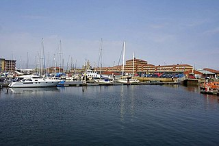 Hartlepool Town in County Durham, England