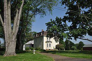 Bradstreet Historic District - Image: Hatfield MA Bradstreet HD