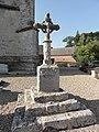 Hattenville (Seine-Mar.) croix de cimetière 1648, recto.jpg