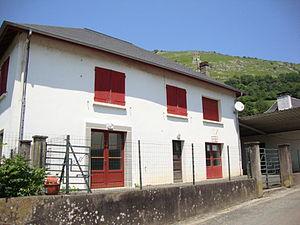 Haux, Pyrénées-Atlantiques - The town hall of Haux