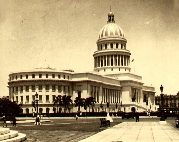 Havana New Capitol Building 1920