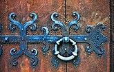 Fil:Havdhems kyrka medeltida dörr Gotland.jpg