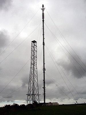 Haverfordwest transmitting station - Image: Haverfordwest VHF Transmitter geograph.org.uk 310155