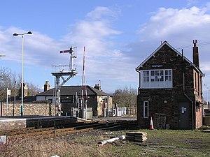 Heighington railway station - Image: Heighington railway station 1