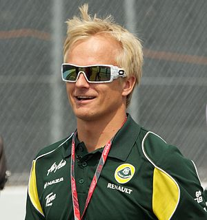 2012 Bahrain Grand Prix - Heikki Kovalainen qualified sixteenth, the first time he reached Q2 in the 2012 season.